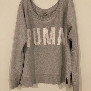 Puma super cute oversized hoddie. Used but great!!